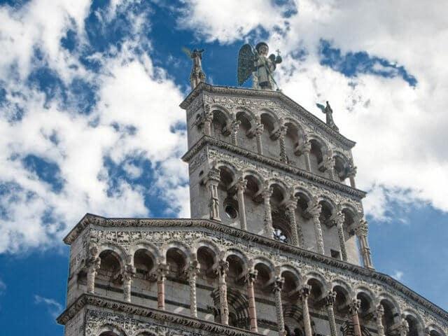 Igreja de São Miguel no Fórum em Lucca
