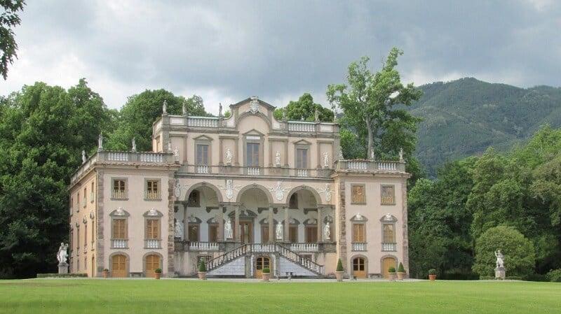 Villa Mansi em Lucca na Itália