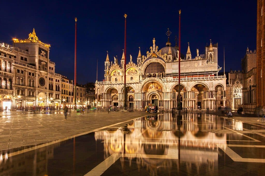 Basílica San Marco na Praça San Marco