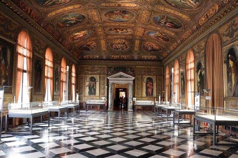 Biblioteca Marciana em Veneza