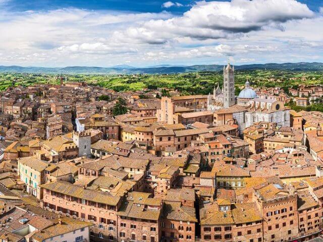 Vinícolas em Siena