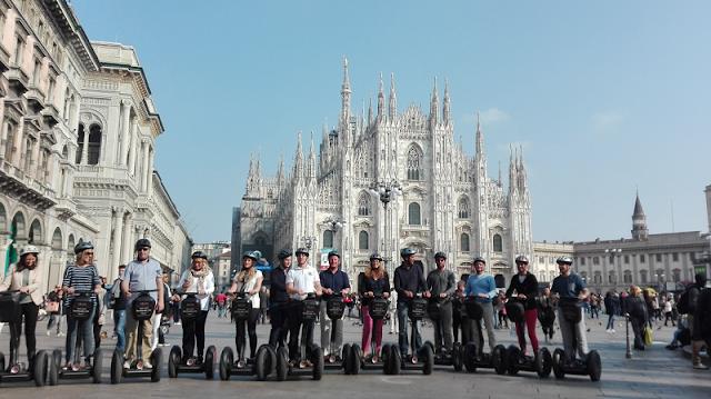 Ingressos para tour privado de Segway em Milão