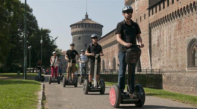 Ingressos para tour de Segway com guia em Milão
