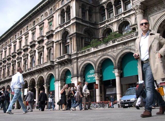 Passe da cidade de Milão