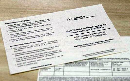 Certificado de Vacinação Internacional