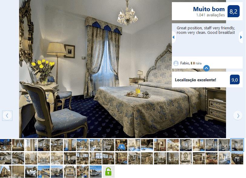 Hotel Giorgione para ficar em Veneza
