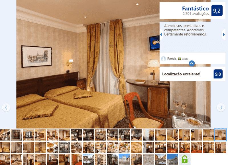 Hotel Condotti para ficar em Roma