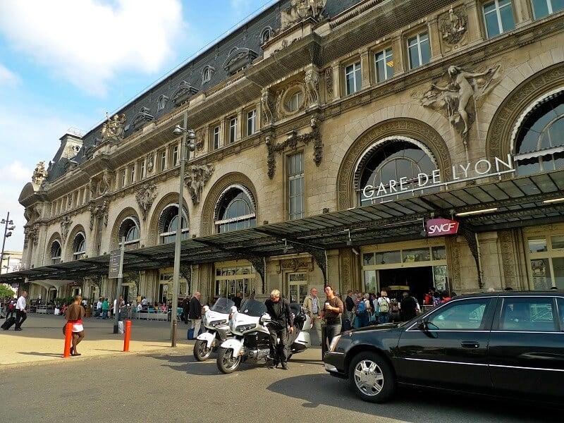Estação de trem Gare de Lyon em Paris