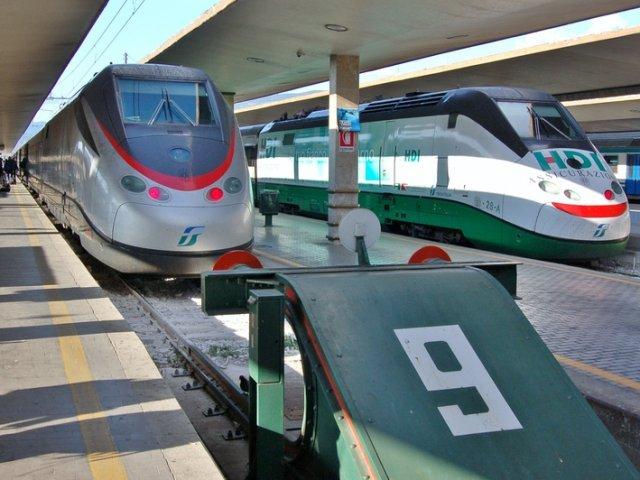 Viagem de trem de Florença a Verona