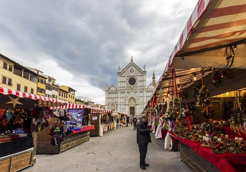Mercado de Santa Croce em Veneza