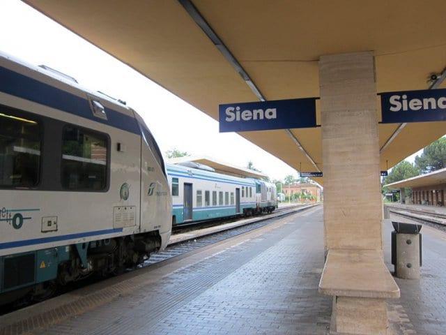 Viagem de trem de Siena a Florença
