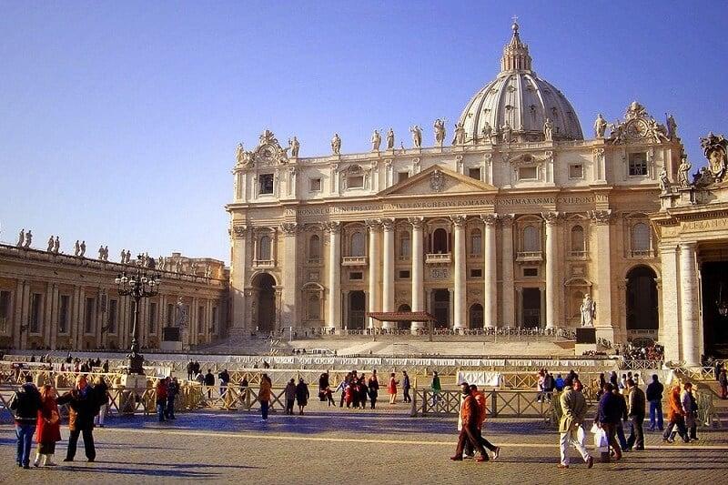 Basílica São Pedro no Vaticano em Roma