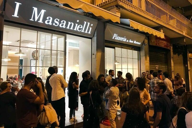 Pizzaria I Masanielli di Francesco Martucci na Itália