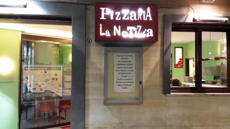 Pizzaria La Notizia 94 na Itália