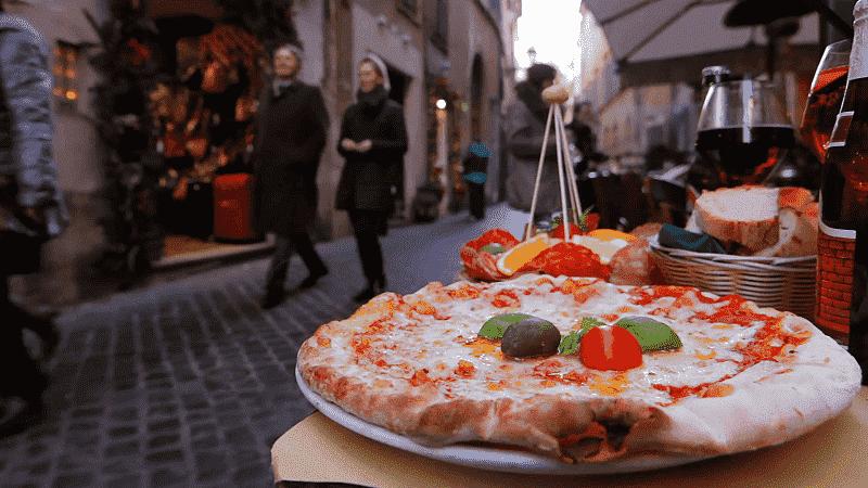 Tradicionais e típicas pizzas italianas