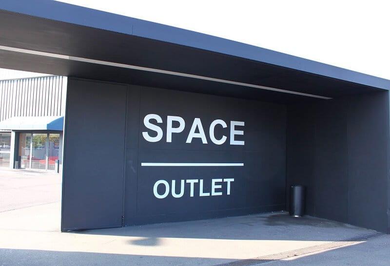 Outlet Space Factory em Toscana na Itália