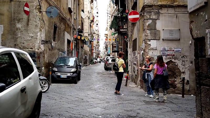 Quartieri Spagnoli em Nápoles