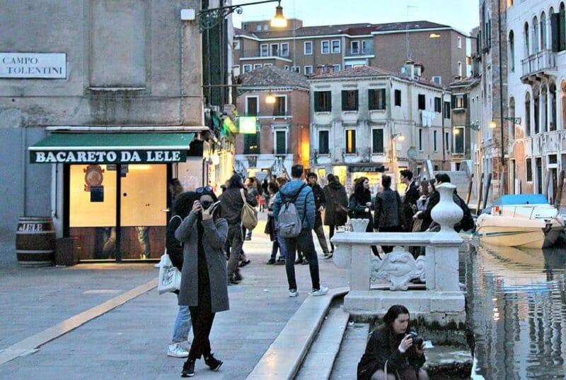 Bacareto da Lele em Veneza