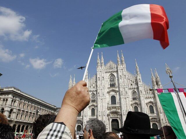 Qual língua falar na Itália