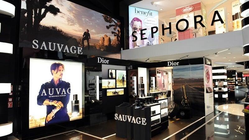 Loja da Sephora em Milão