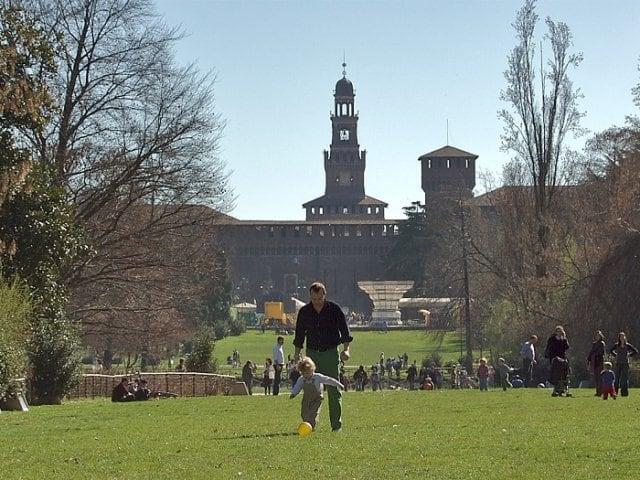 O que fazer com crianças em Milão