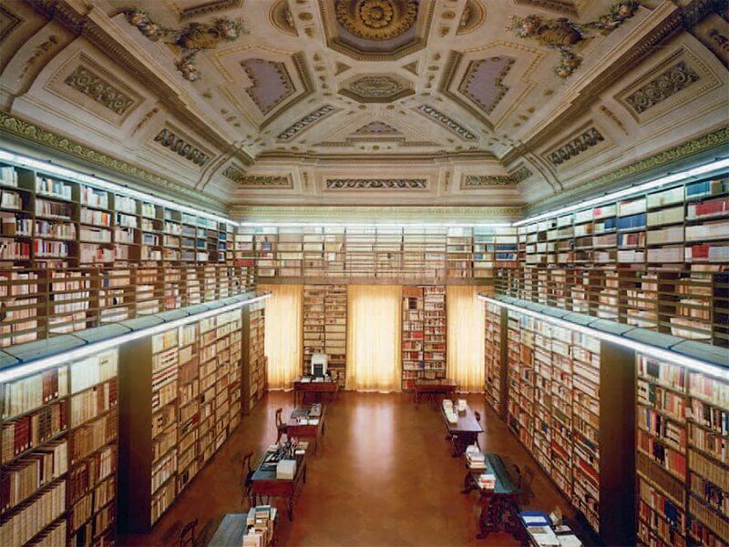 Interior da Villa di Petraia