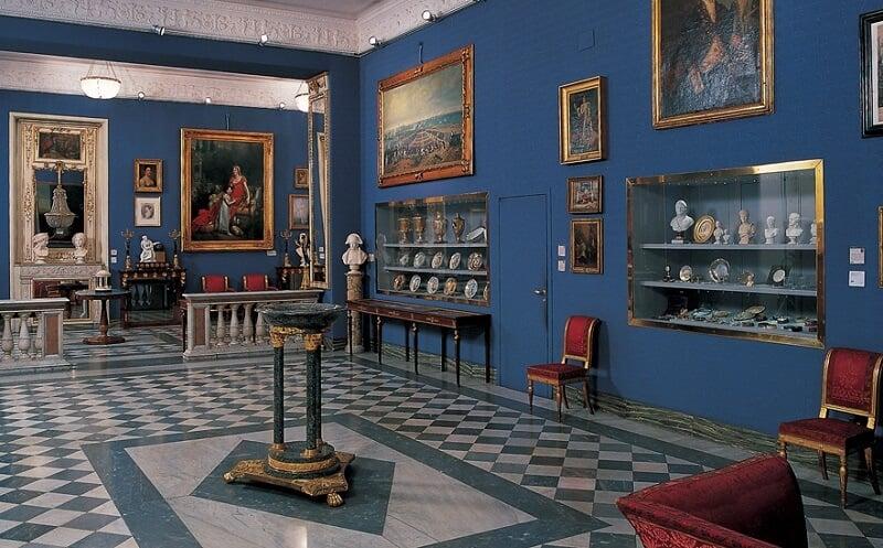 Obras expostas no Museu Napoleonico