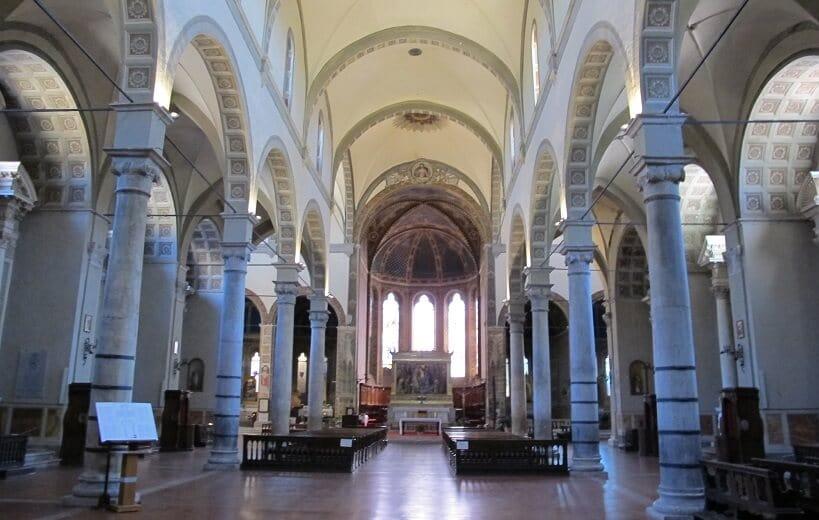 Igreja Santa Maria dei Servi em Siena