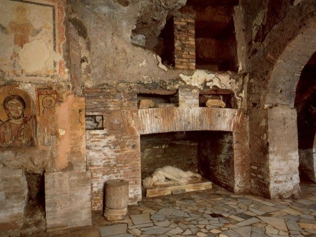 Catacumbas em Roma