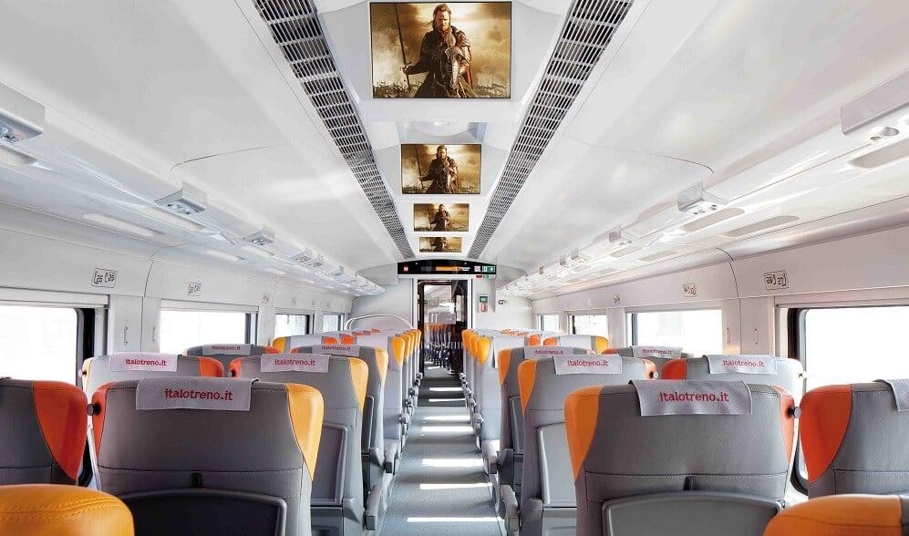 Viagens de trem na Itália