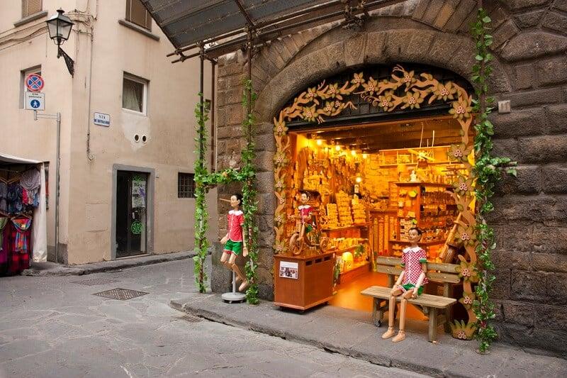 Loja Bartolucci em Florença