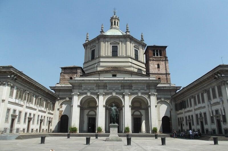 Basílica de São Lorenço em Milão