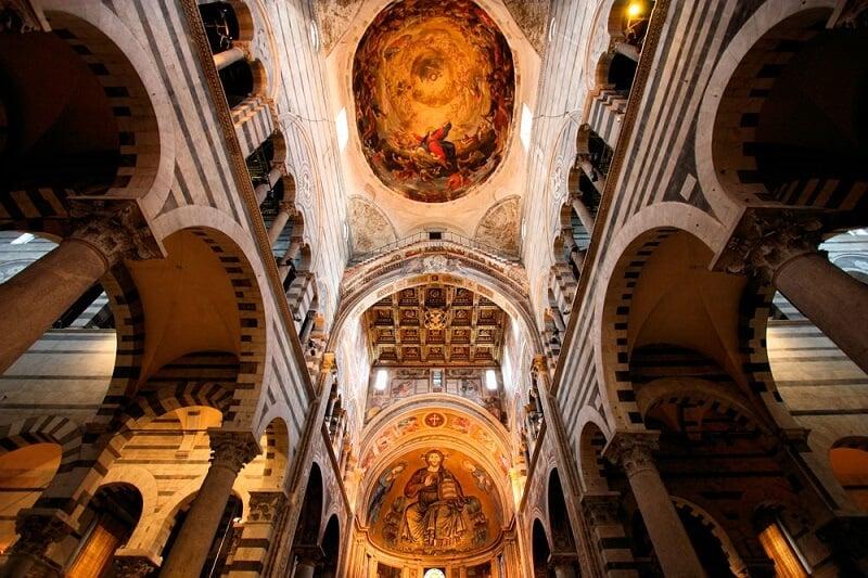 Teto da Catedral de Pisa