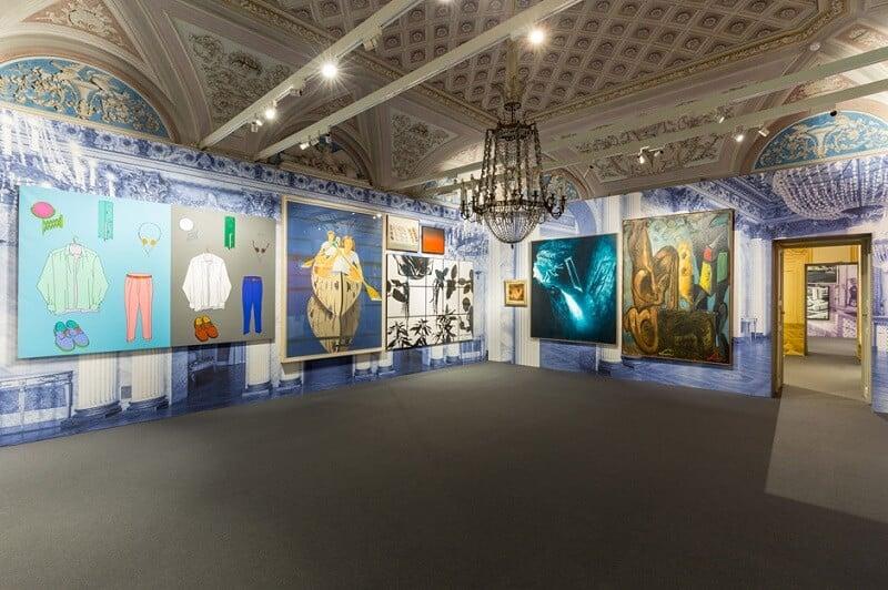 Obras expostas na Galeria de Arte Moderna