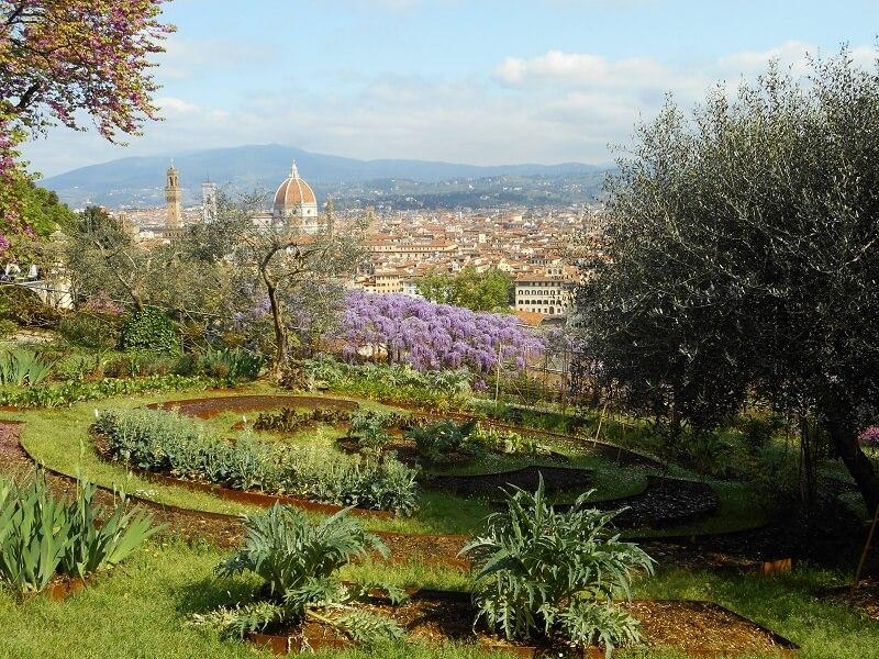Parque Giardino Bardani em Florença