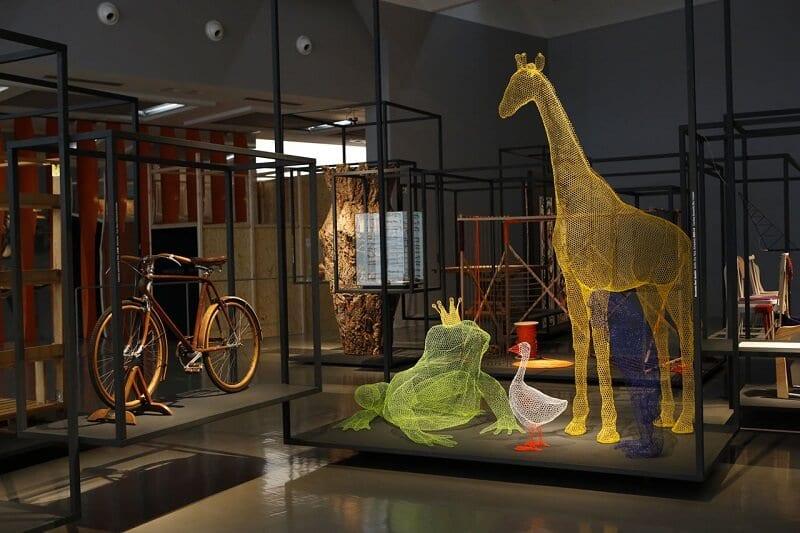 Arte exposta no Museu La Triennale