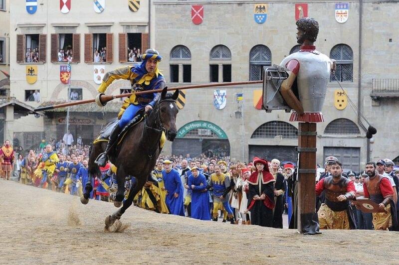 Giostra del Saracino em Arezzo