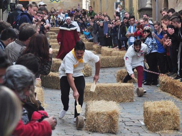 Calendário das principais festas medievais em Toscana
