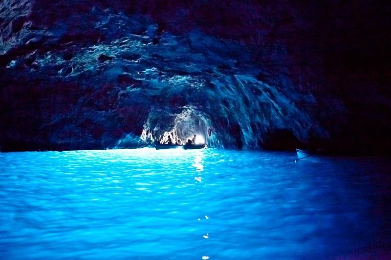 Gruta Azul em Capri
