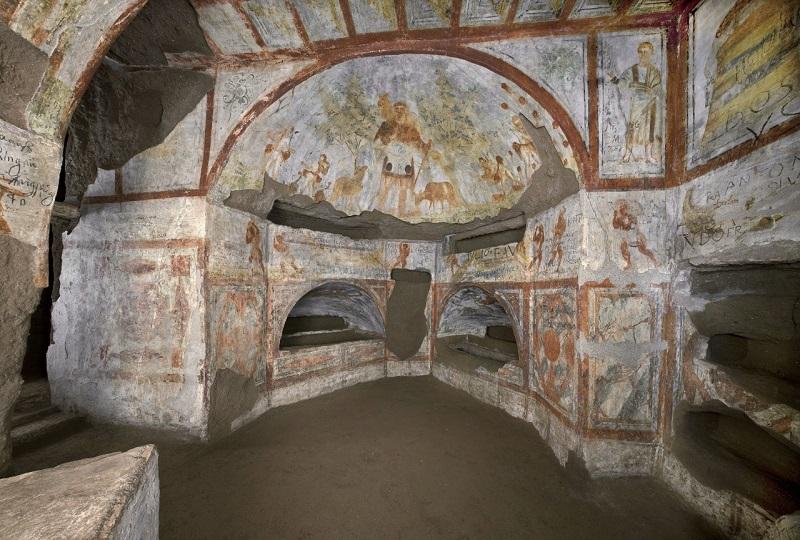 Catacumba de Dolomitas em Roma