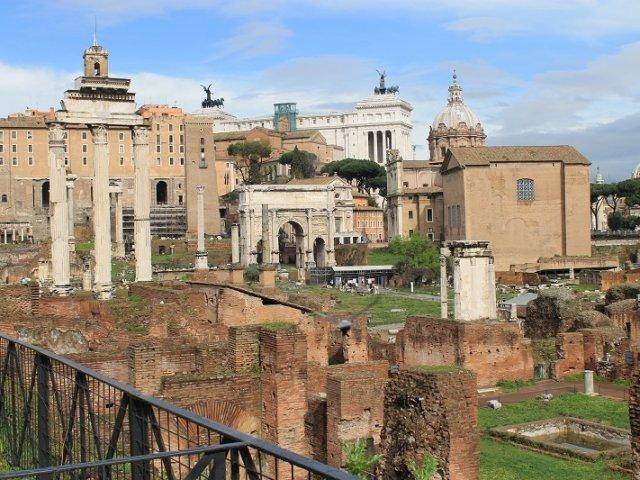Ingressos para Coliseu, Arena, Fórum e Palatino em Roma