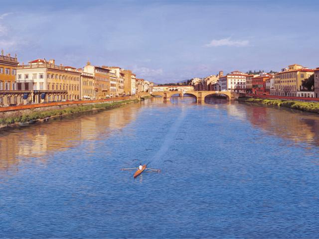 Ingressos para passeio de barco pelo Rio Arno em Florença