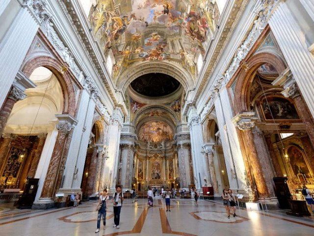Ingressos para tour gratuito pelas igrejas barrocas de Roma