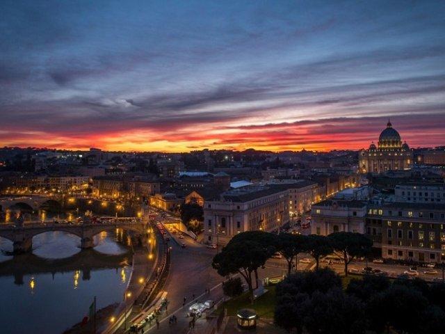 O que fazer à noite em Roma