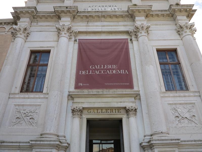 Exterior da Galleria Accademia em Florença