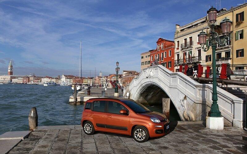 Carro em Veneza