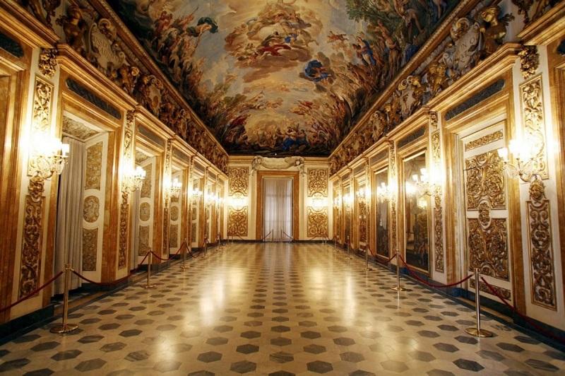 Interior do Palazzo Médici Riccardi em Florença