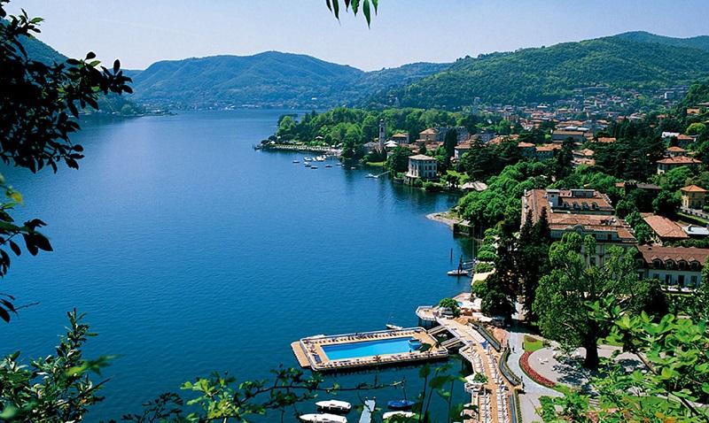Lago de Como em Milão