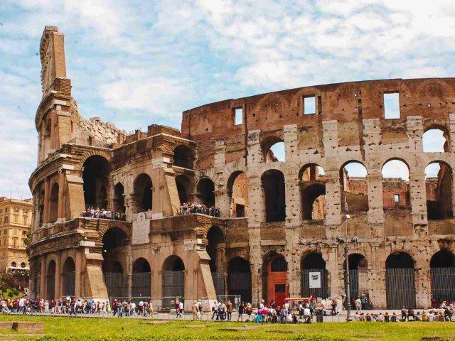 Remessas internacionais para Roma