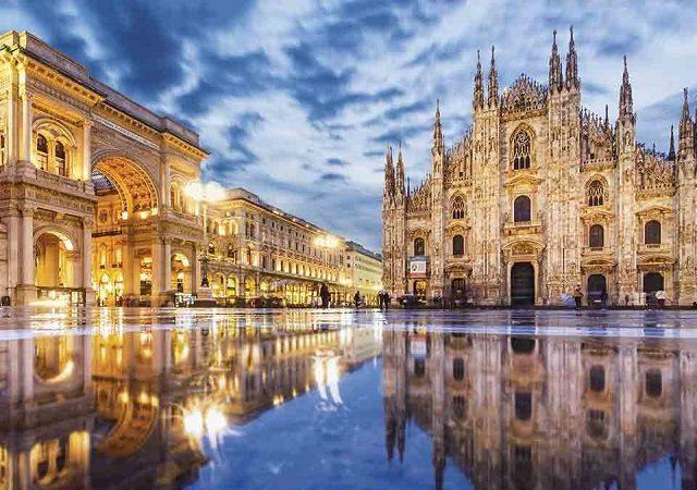 Meses de alta e baixa temporada em Milão